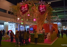 Le stand de Pink Lady Europe