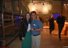 Jonathan Goumon, France sales manager chez The Greenery France et sa femme Caroline Voland