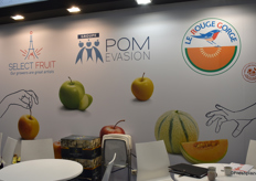 Select Fruit, Pom'evasion et le Rouge-Gorge ont partagé un stand au Fruit Attraction 2019